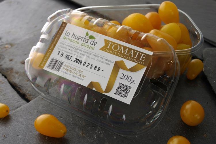 Pack tomate cherry pera amarillo