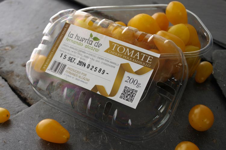 Pack tomate cherry pera amarillo