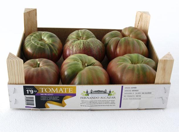 Tomate morado